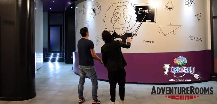 Campioni del mondo di enigmistica Adventure rooms a Perugia 7 cervelli