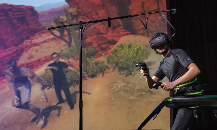 gioco realta virtuale perugia zombie